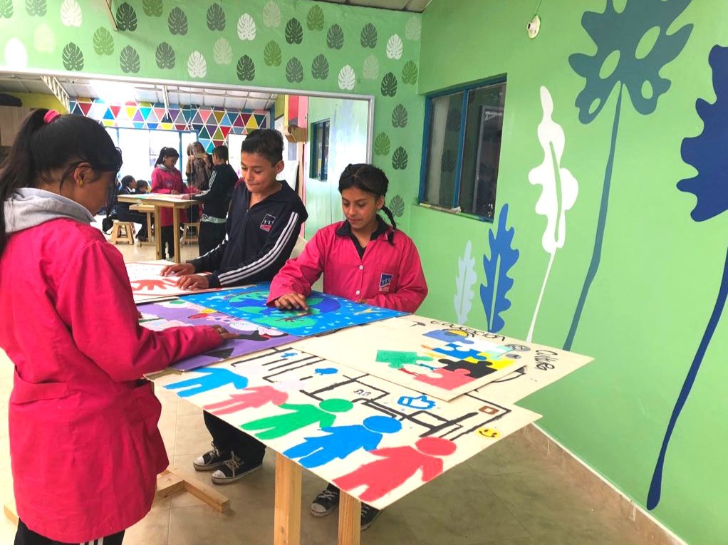 Art brings back the child within