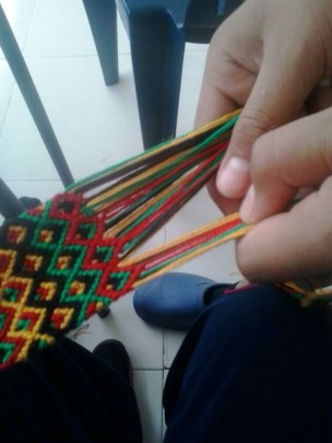 Weaving has a high therapeutic value.