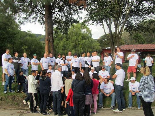 Papa Jaime inspires others to volunteer