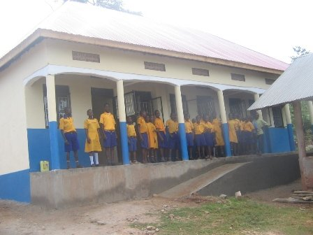 Our new Kitoola school wing !