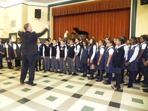ETM's students prepare for their winter concerts.