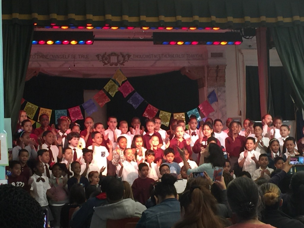 Student perform with pride at a spring concert!
