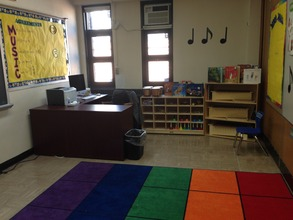 The music room at P.S. 359