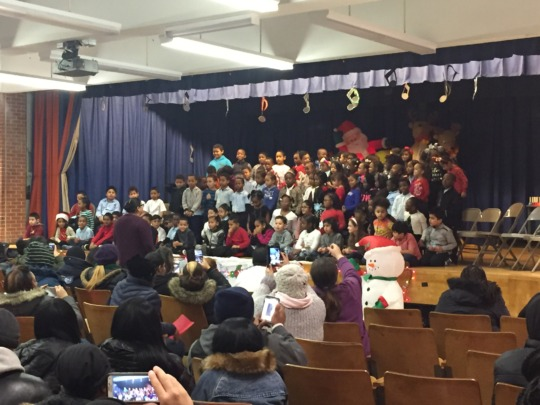 Students perform at a winter concert!