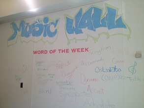 PS 84's Music Wall