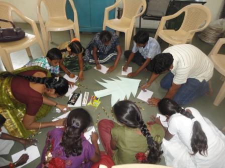 Group work by children