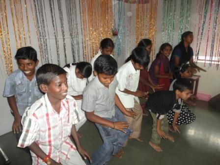 Children Group Action Songs