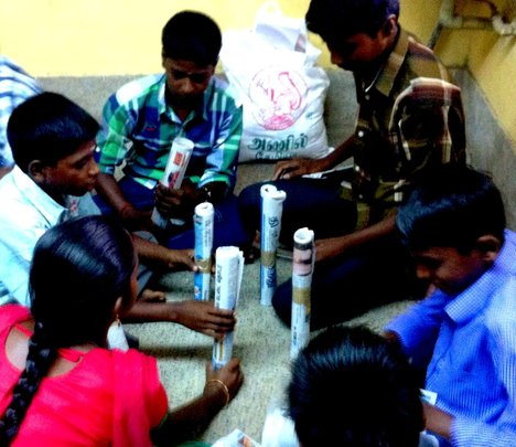 Care and Support 50 Orphan Adols with HIV in India