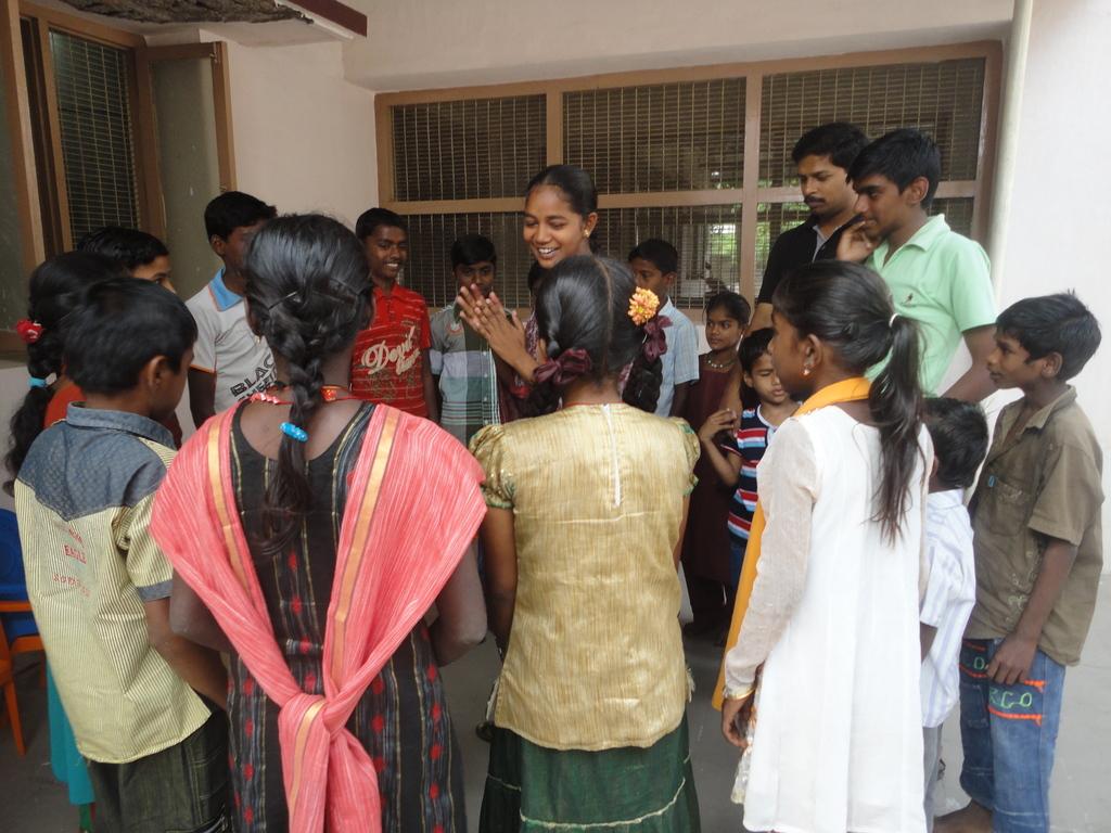 Peer Leader in Action