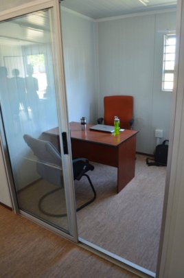 Private room for legal consults
