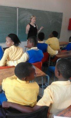LvA's school workshop in Diepsloot