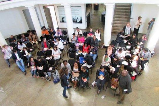 Guests attending the Handbook Launch