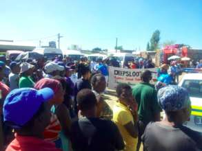 Diepsloot marching against sexual violence