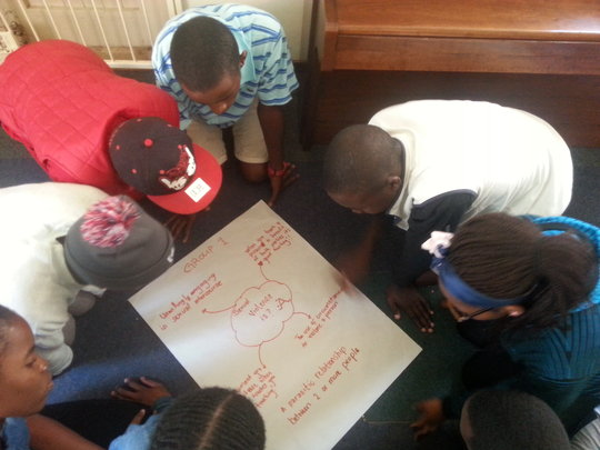 Hillbrow Participants in Know Your Rights Workshop