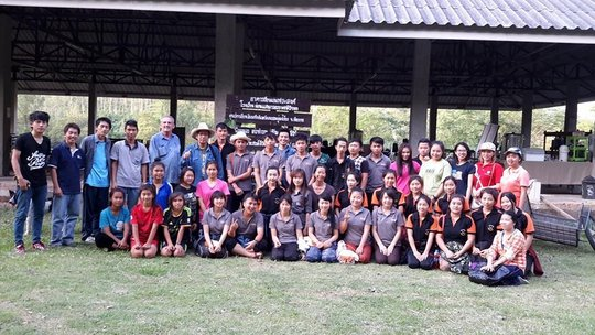 Eco-school for girls in northern Thailand