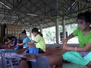 Art of massage (Foot massage)