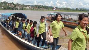 Excursions At Mekong River.