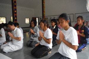 Temple activity