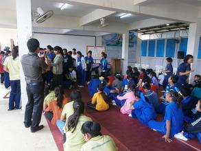 Youth camp Maekok river