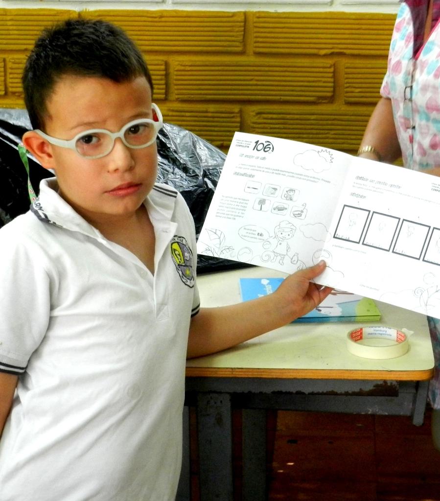 he is a school boy jose antonio galan who learned