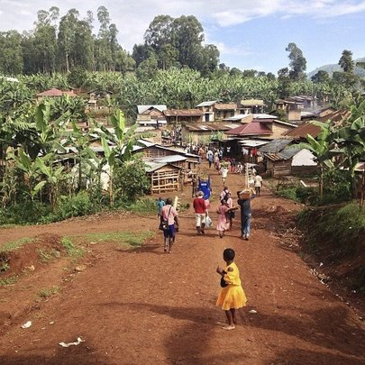 The village where our school is located