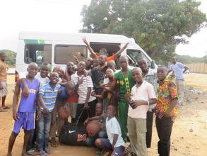 Trip to Kumasi