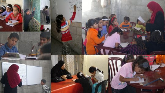 Gaza Tutoring Program for children in most need