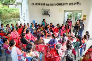 Nepali Women Awaiting Treatment
