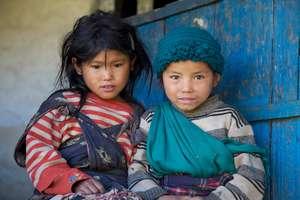 Nepalese children