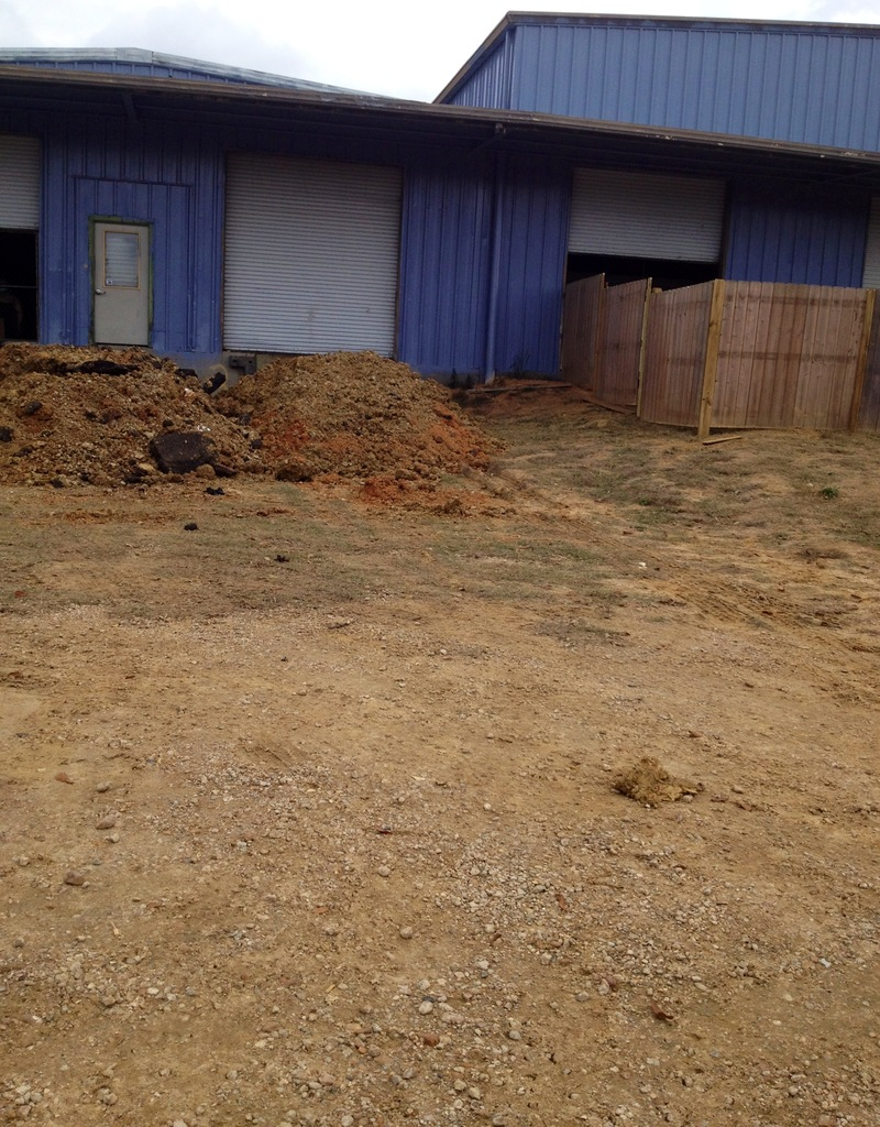Yea! Dirt Piles! Things are Moving!