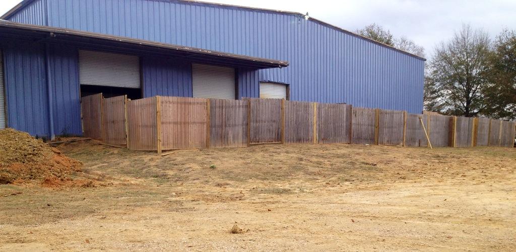 Construction! Look at the new play yard!
