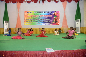 Small girls performing!