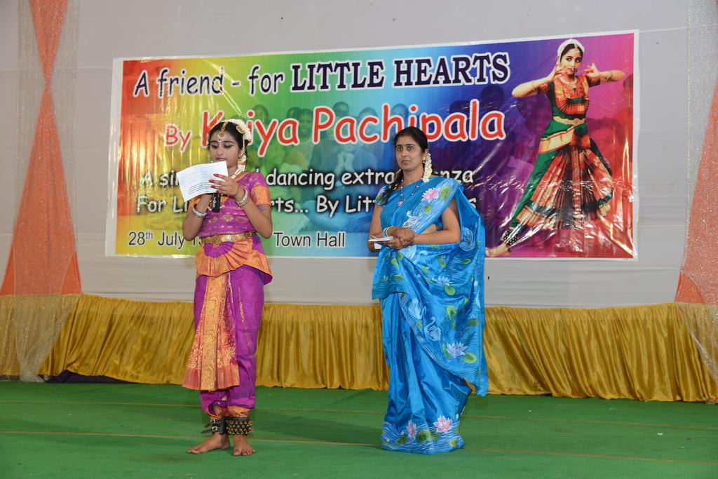 Kriya and her mom, Kalpana. Thank you!