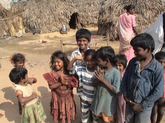 Village children.