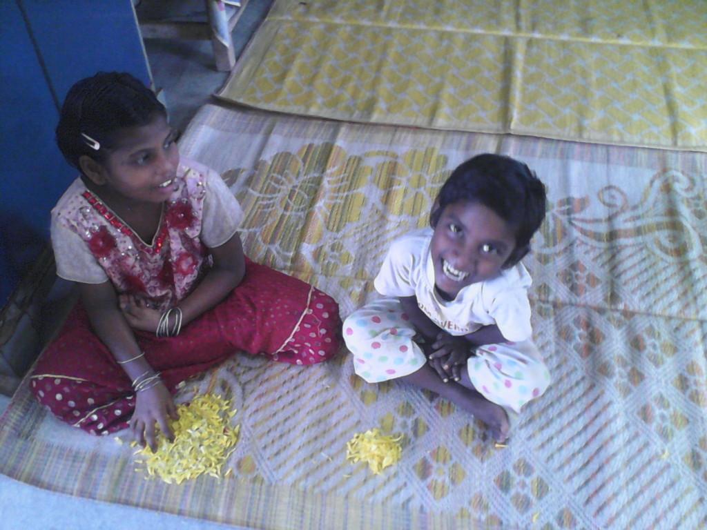Little girls playing!