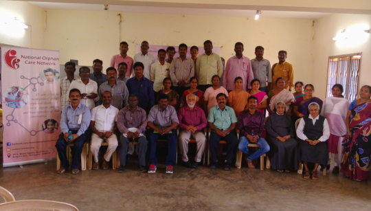 Child Rights Training - group photo