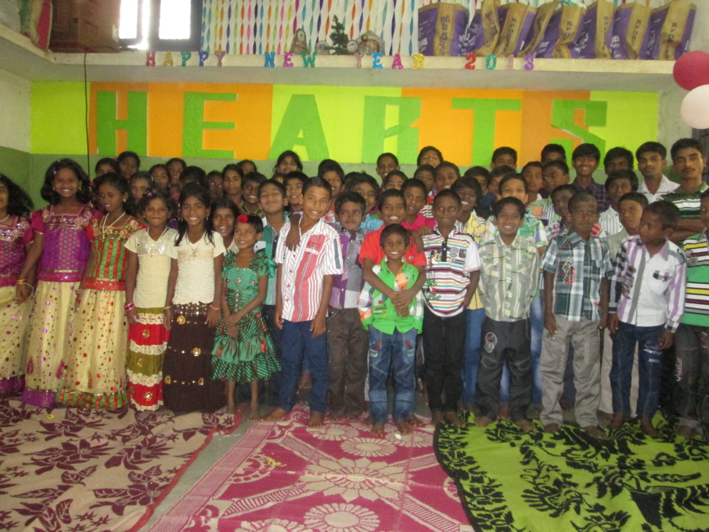 Children at little HEARTS Orphanage