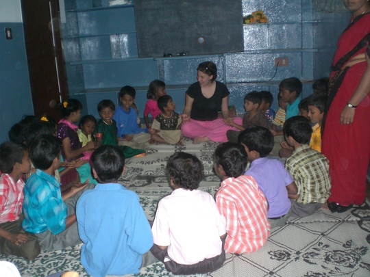 Photo - I get to play with the kids