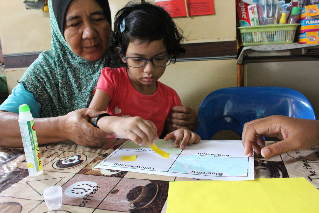 Educating young blind children for a better future