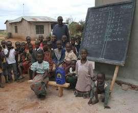 A Mambo Elimu radio education class at Orkasumet