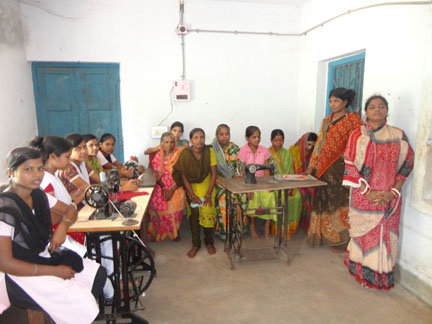 Provide a 3 months voc. course to orphan girls