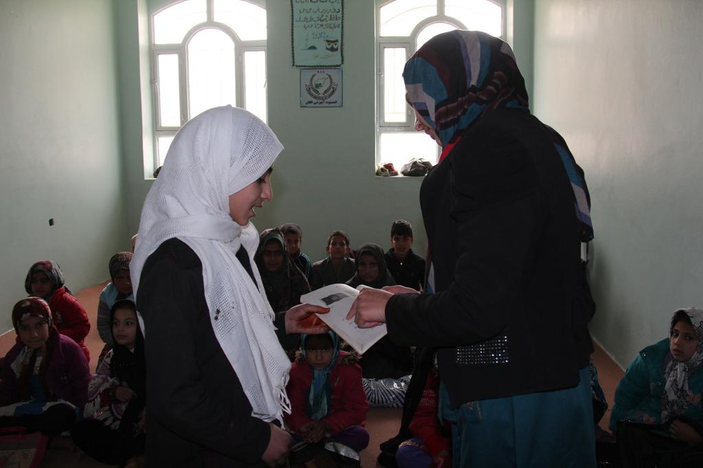 Teachers in a Workshop