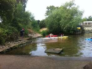 Kayaking summer camp