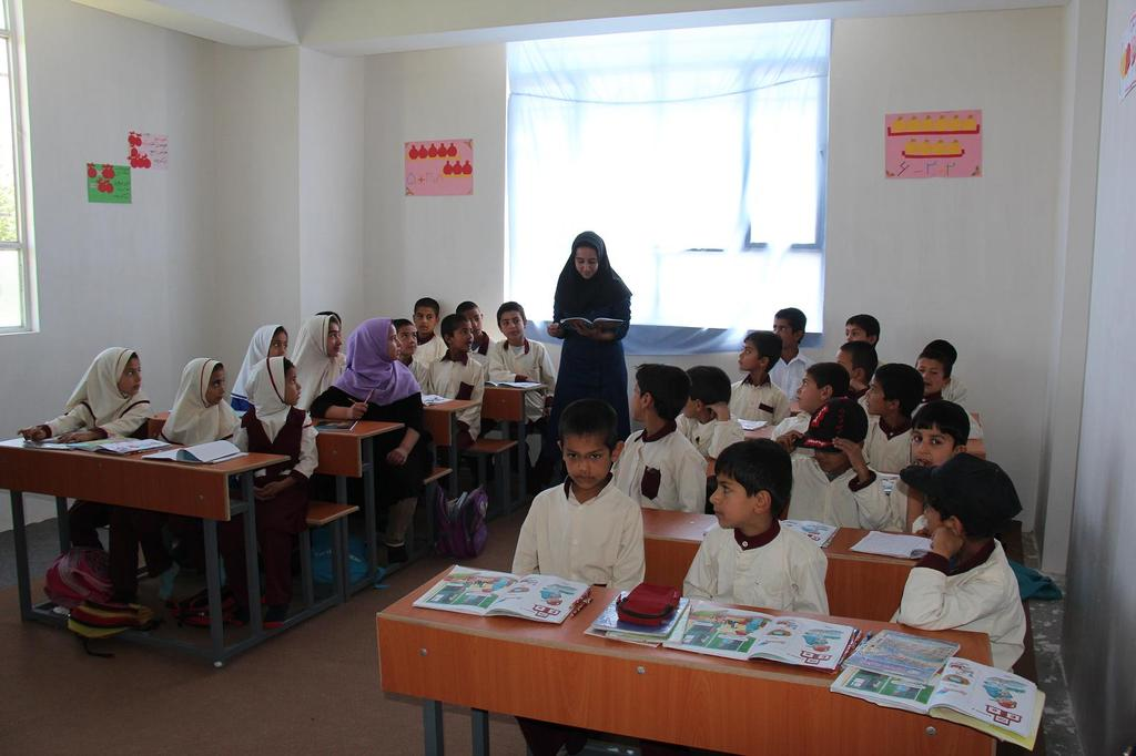 Young Students in Class