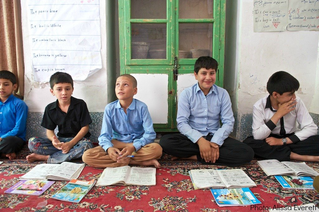 Boys in an AIL Learning Center