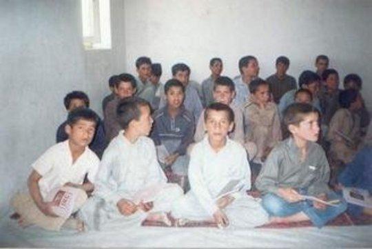 Advanced Class Students