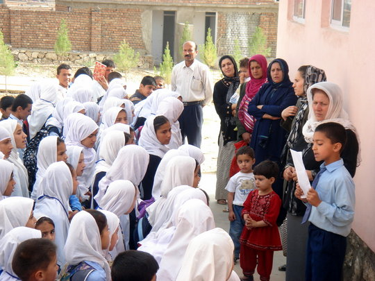 Give Afghan Refugees the Gift of Education