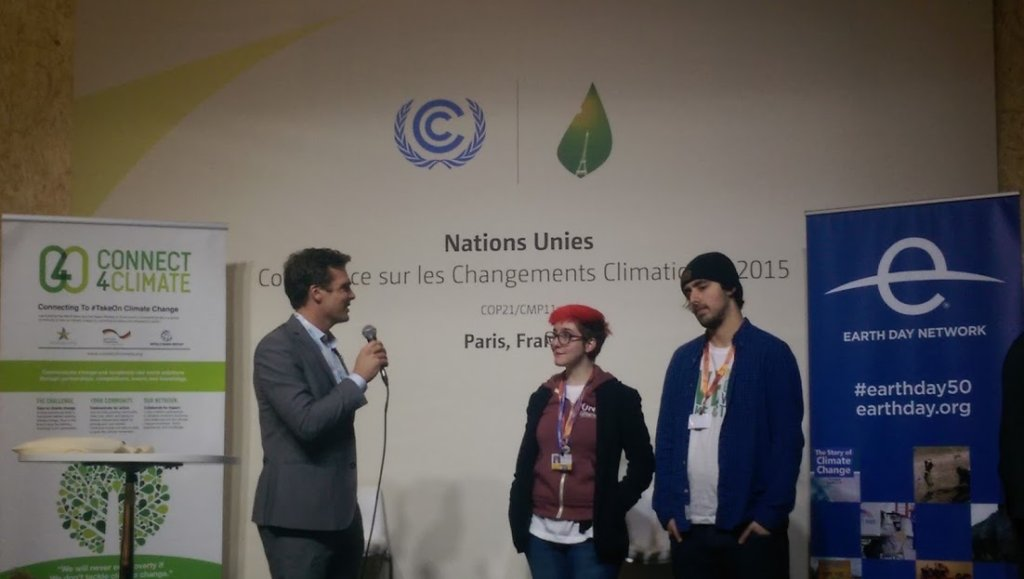 Youth engagement at COP21
