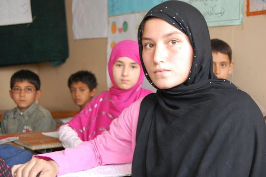 Jump-Start Learning for Afghan Children
