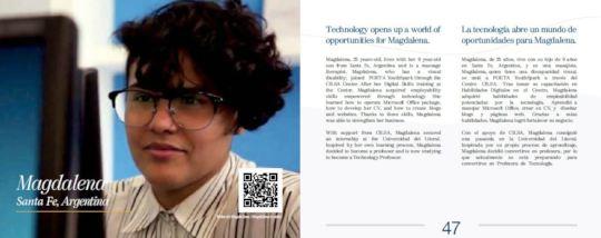 Magdalena - POETA Argentina participant